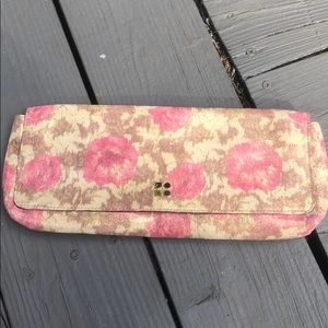 Kate Spade floral clutch